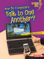 How Do Computers Talk to One Another?