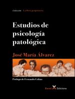Estudios de psicología patológica