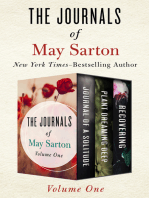 The Journals of May Sarton Volume One