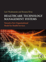 Healthcare Technology Management Systems: Towards a New Organizational Model for Health Services