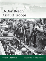 D-Day Beach Assault Troops