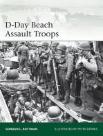 D-Day Beach Assault Troops