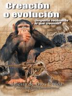 Creación o evolución ¿Importa realmente lo que creamos?