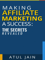 Making Affiliate Marketing a Success