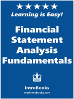Financial Statement Analysis Fundamentals