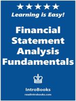 Financial Statement Analysis Fundamentals