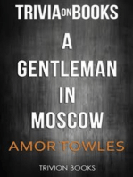 A Gentleman in Moscow by Amor Towles (Trivia-On-Books)