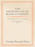 The Shewing-Up of Blanco Posnet - With Preface on the Censorship