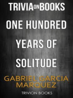 One Hundred Years Of Solitude by Gabriel Garcia Marquez (Trivia-On-Books)