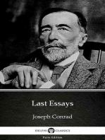 Last Essays by Joseph Conrad (Illustrated)