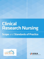 Clinical Research Nursing