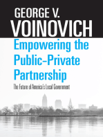 Empowering the Public-Private Partnership: The Future of America's Local Government