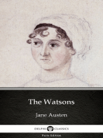 The Watsons by Jane Austen (Illustrated)