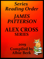 James Patterson's Alex Cross Series Best Reading Order with Checklist and Summaries