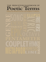 The Princeton Handbook of Poetic Terms: Third Edition