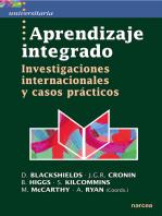 Aprendizaje integrado: Investigaciones internacionales y casos prácticos
