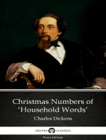 Christmas Numbers of 'Household Words' by Charles Dickens (Illustrated)