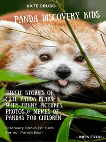 Panda Discovery Kids: Jungle Stories of Cute Panda Bears with Funny Pictures, Photos & Memes of Pandas for Children: Discovery Books For Kids Series