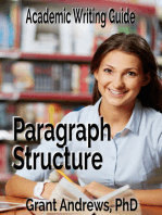 Academic Writing Guide: Paragraph Structure