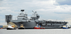 U.K. To Send 'Colossal' New Warships To Disputed Asian Waters ... Eventually