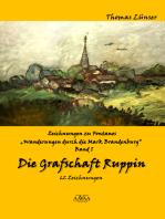"""Zeichnungen zu Fontanes """"Wanderungen durch die Mark Brandenburg"""" – Band I"""