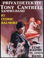 Privatdetektiv Tony Cantrell Sammelband #2 - Fünf Krimis in einem Band