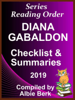 Diana Gabaldon's Best Reading Order