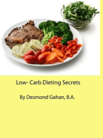 LOW-CARB DIETING SECRETS!