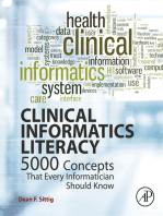 Clinical Informatics Literacy
