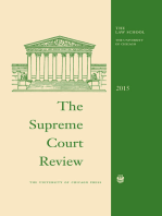 The Supreme Court Review, 2015