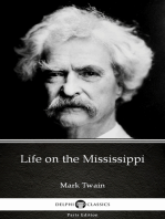 Life on the Mississippi by Mark Twain (Illustrated)