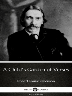 A Child's Garden of Verses by Robert Louis Stevenson (Illustrated)