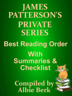 James Patterson's Private Series Best Reading Order with Checklist and Summaries