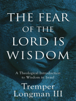 The Fear of the Lord Is Wisdom