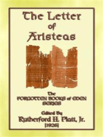 THE LETTER OF ARISTEAS - A Book of the Apocrypha