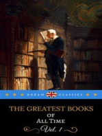 The Greatest Books of All Time Vol. 1 (Dream Classics)