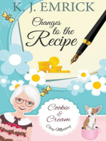 Changes to the Recipe