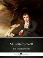 St. Ronan's Well by Sir Walter Scott (Illustrated)