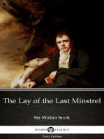 The Lay of the Last Minstrel by Sir Walter Scott (Illustrated)