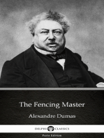 The Fencing Master by Alexandre Dumas (Illustrated)