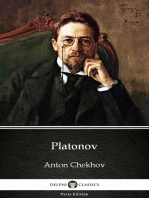 Platonov by Anton Chekhov (Illustrated)