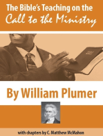 The Bible's Teaching On the Call to the Ministry
