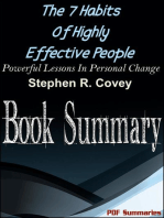 The 7 Habits Of Highly Effective People (Book Summary)
