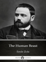 The Human Beast by Emile Zola (Illustrated)
