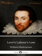 Love's Labour's Lost by William Shakespeare (Illustrated)