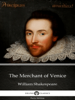 The Merchant of Venice by William Shakespeare (Illustrated)