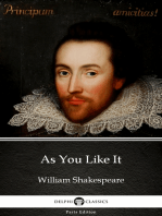 As You Like It by William Shakespeare (Illustrated)