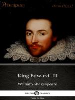 King Edward III by William Shakespeare - Apocryphal (Illustrated)