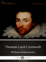 Thomas Lord Cromwell by William Shakespeare - Apocryphal (Illustrated)