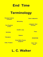 End Time Terminology